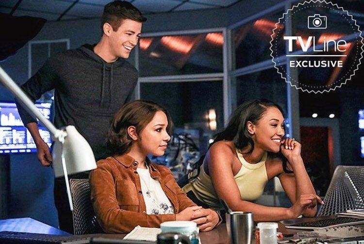 The Flash, saison 5 : la famille Allen au complet.