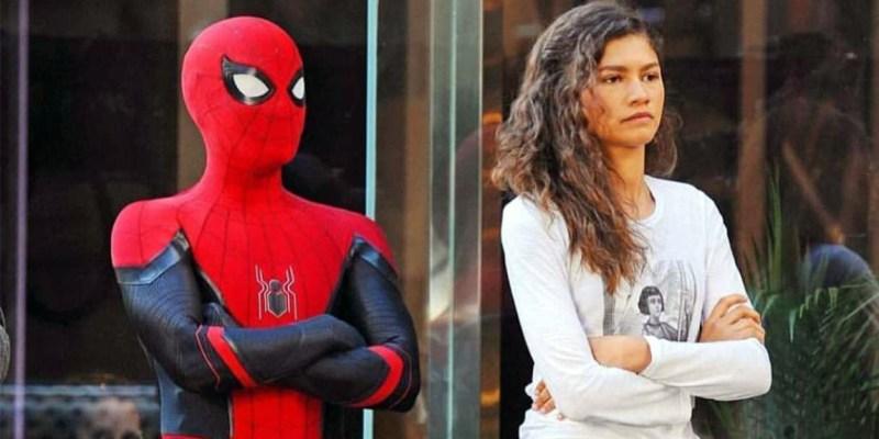 Tom Holland et Zendaya sur le tournage de Spider-Man: Far From Home