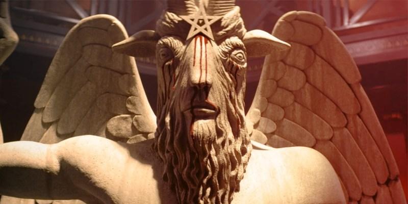 La statue de Baphomet dans la série Les Nouvelles Aventures de Sabrina sur Netflix