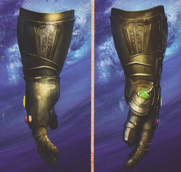 Concept Arts du Gant de l'Infini dans Avengers: Infinity War