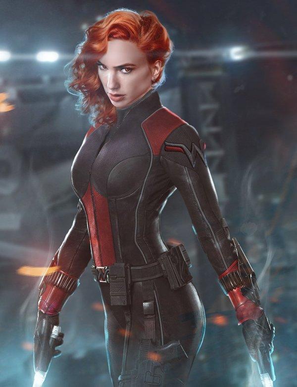 Gal Gadot est Black Widow, par Bosslogic