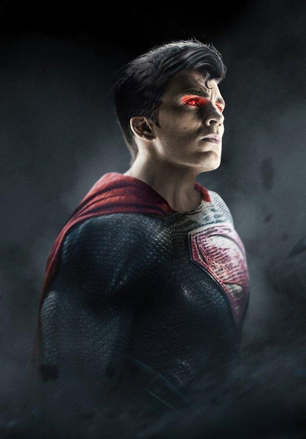 Chris Evans est Superman, par Bosslogic