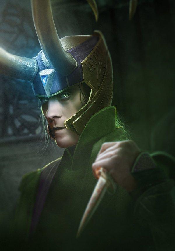 Jared Leto est Loki, par Bosslogic