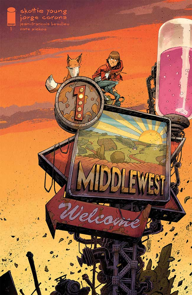 Middlewest #1, couverture de Jorge Corona