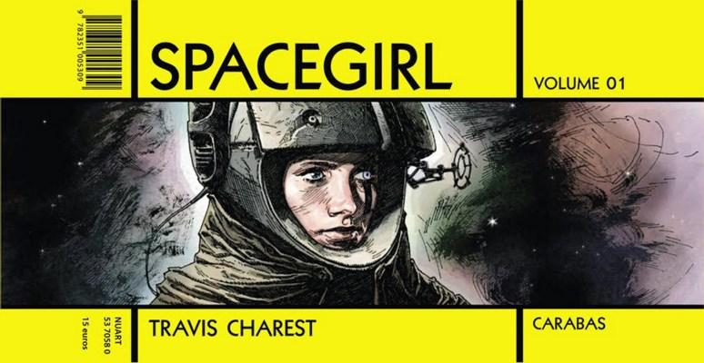 L'édition française de Spacegirl éditée chez Carabas