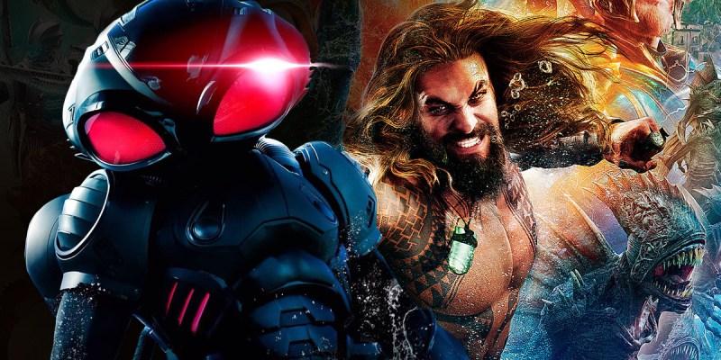 Aquaman et Black Manta