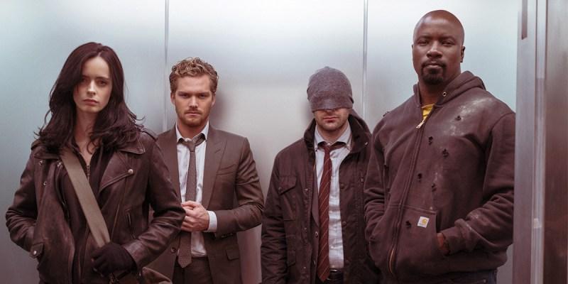 The Defenders : Jessica Jones, Daredevil, Iron Fist, Luke Cage