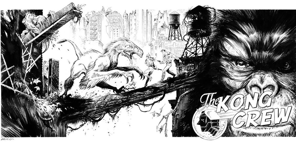 The Kong Crew, par Éric Hérenguel