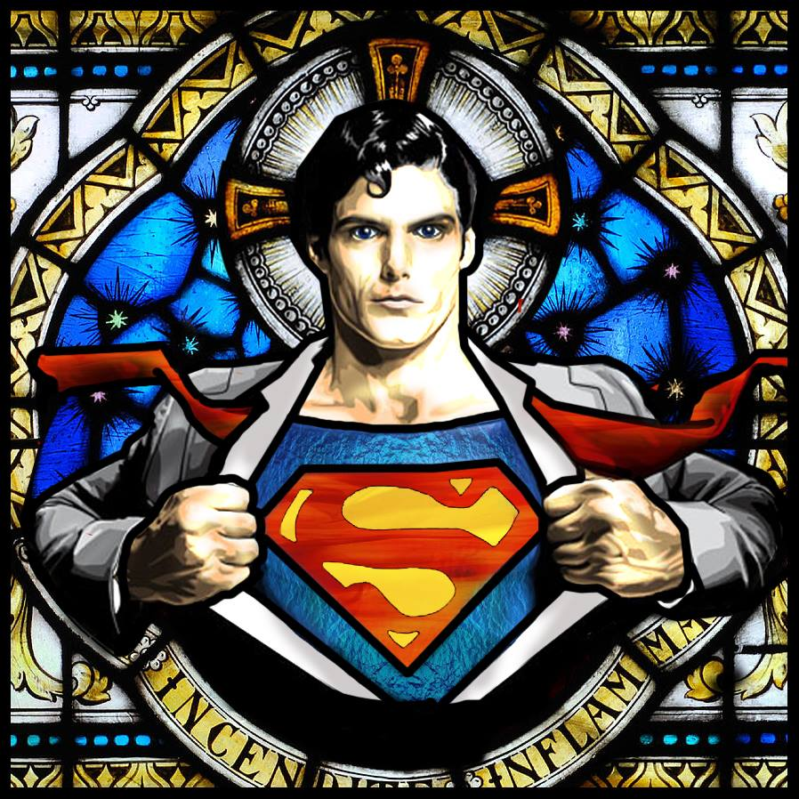 Superman divin -(Conception : Gilles Morand)