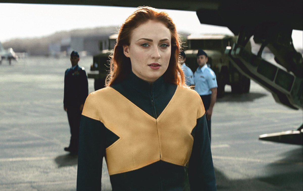Jean Grey (Sophie Turner) dans Dark Phoenix