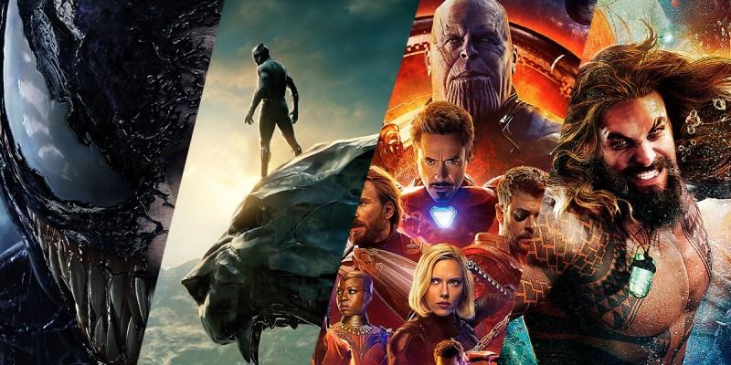 Venom, Black Panther, Avengers: Infinity War et Aquaman, l'année 2018 côté super-héros