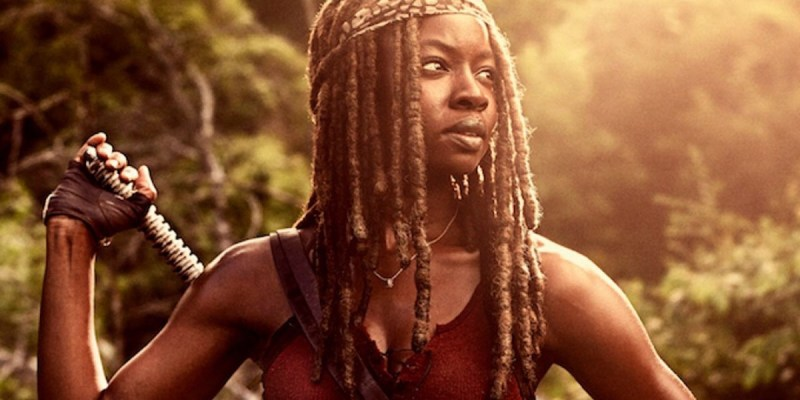 Michonne (Danai Gurira) dans The Walking Dead