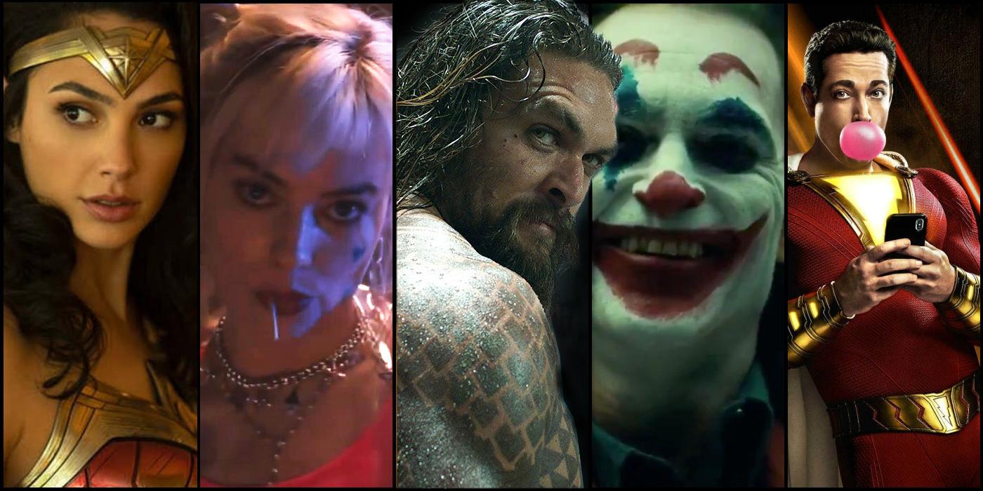 Les prochains films du Worlds of DC