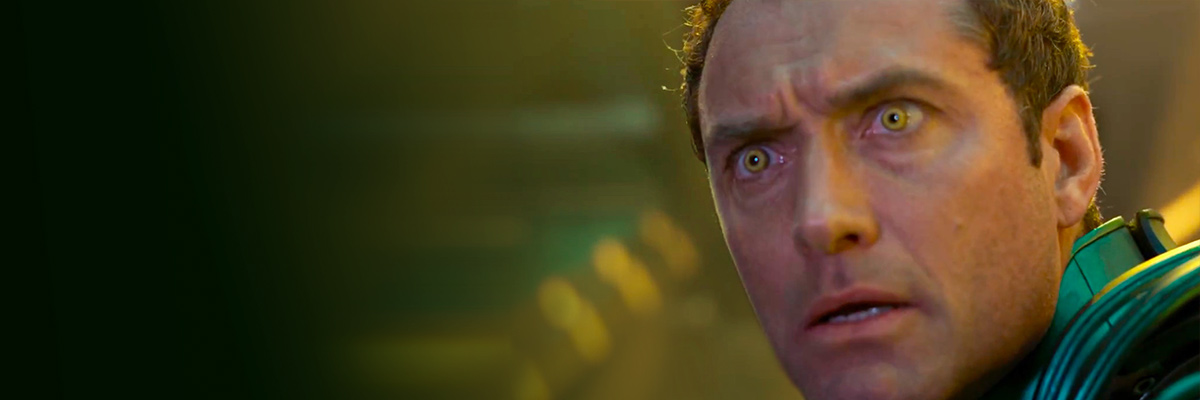 Yonn-Rogg (Jude Law) dans Captain Marvel