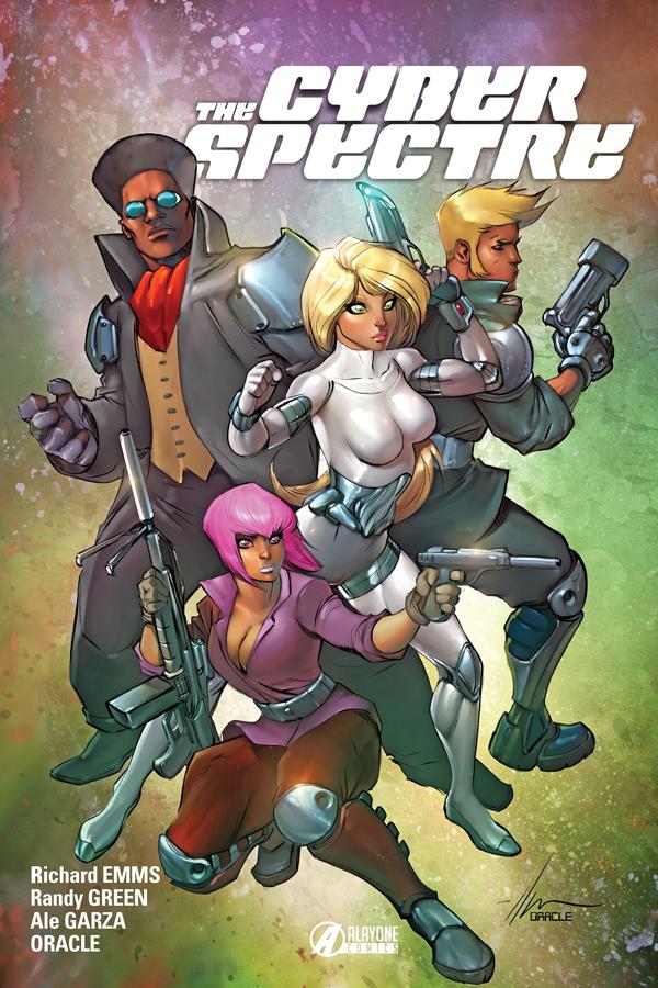 Cyber Spectre : Alayone Comics dévoile les superbes ...