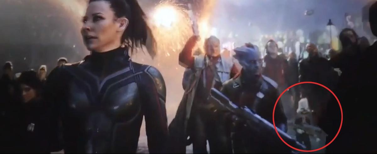 Howard le canard dans Avengers: Endgame