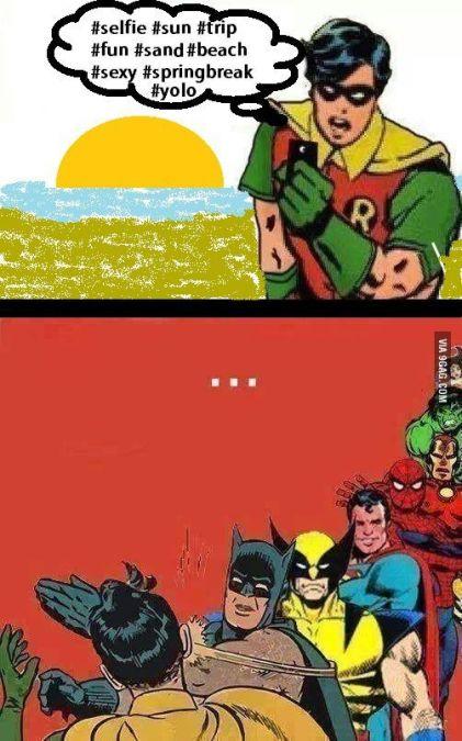 20 mèmes Batman gifle Robin