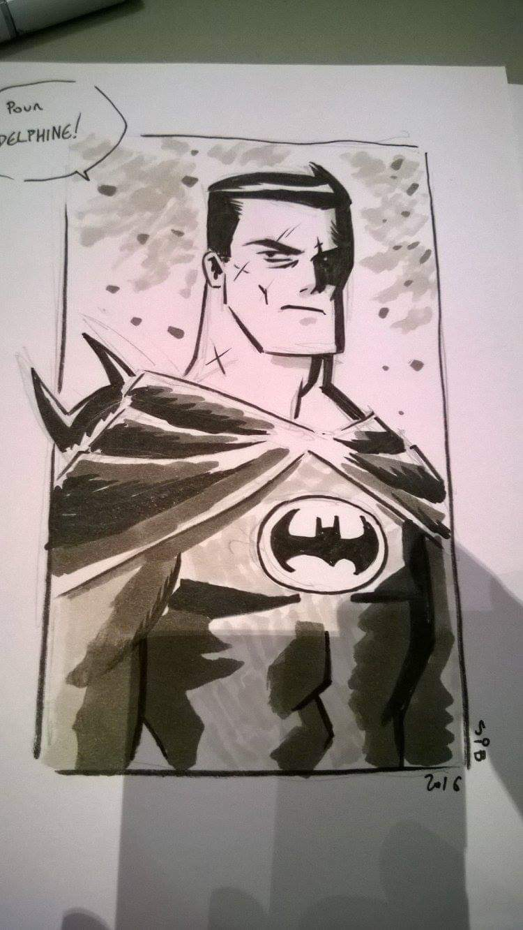 Batman par Cyril Bouquet alias SiB.