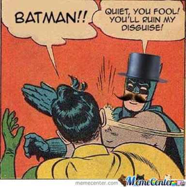 """20 mèmes """"Batman gifle Robin"""". Celui-ci est particulièrement cocasse."""
