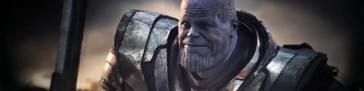 Thanos (Josh Brolin) dans Avengers: Endgame