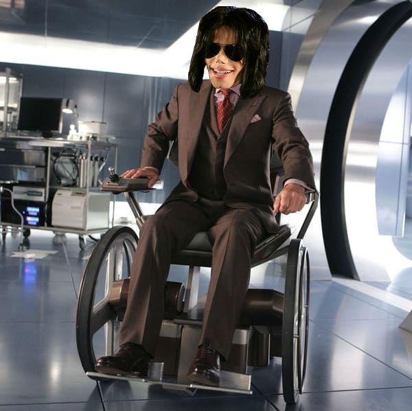Si Michael Jackson était le Professeur X.