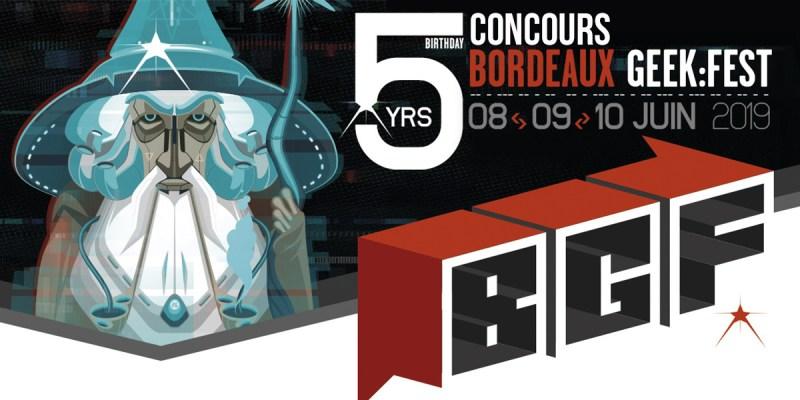 Concours Bordeaux Geek Festival