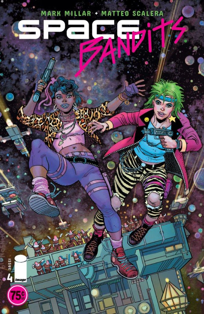 Space Bandits #4 par Klaus Janson