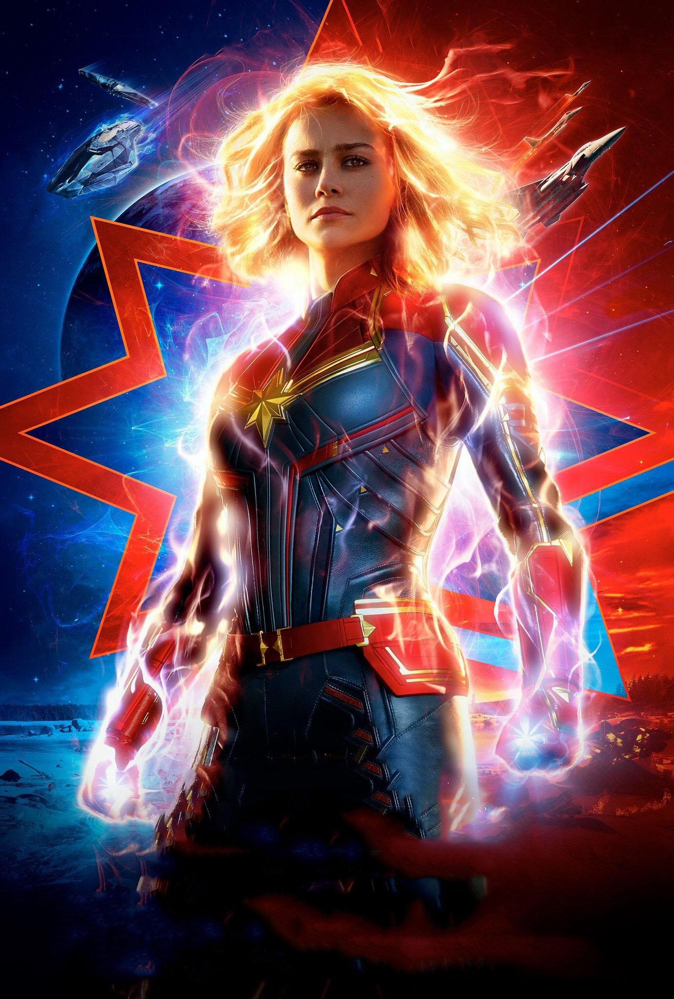 Affiche Captain Marvel 2