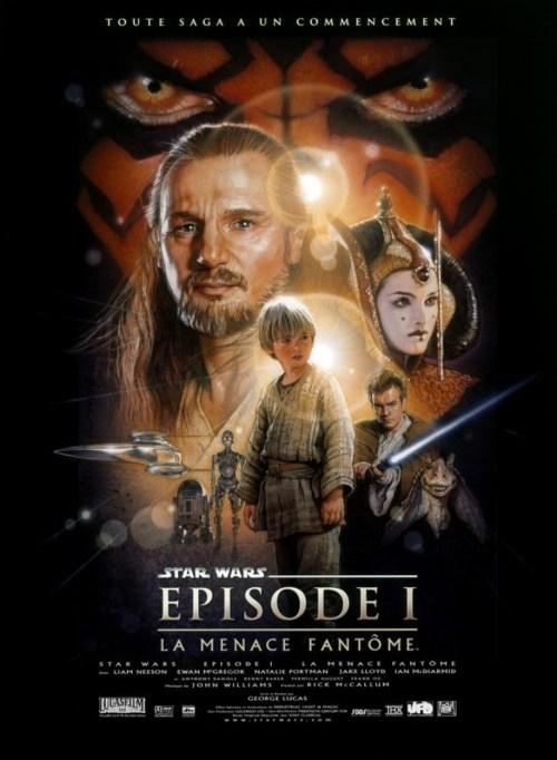 affiche Star Wars I : La Menace Fantôme
