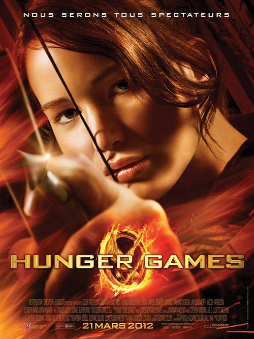 affiche Hunger Games