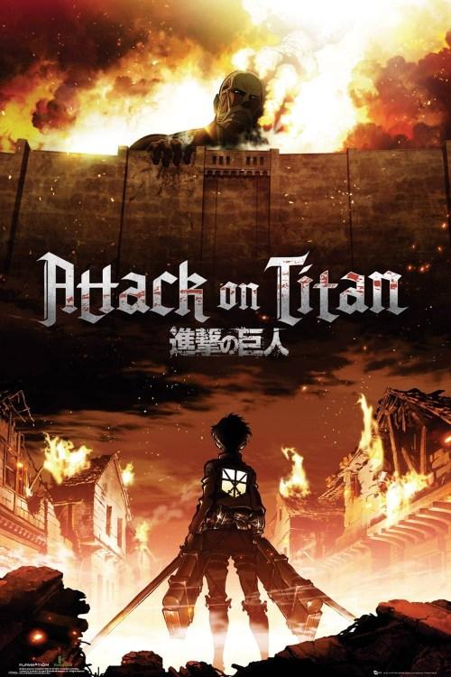 affiche Attack On Titan