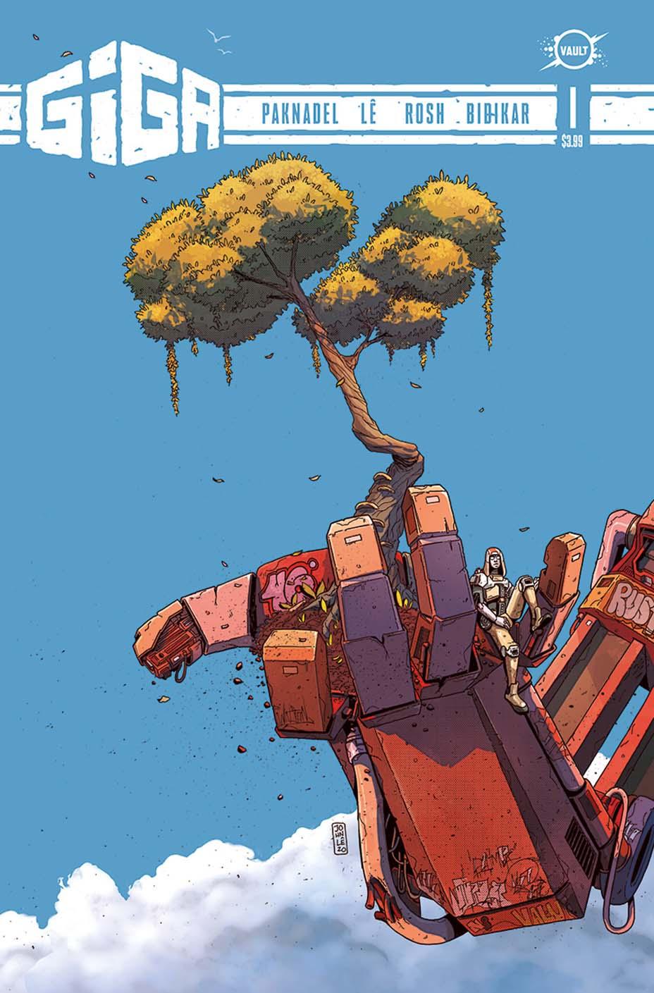 GIGA, des Robots Géants chez Vault Comics – Superpouvoir.com