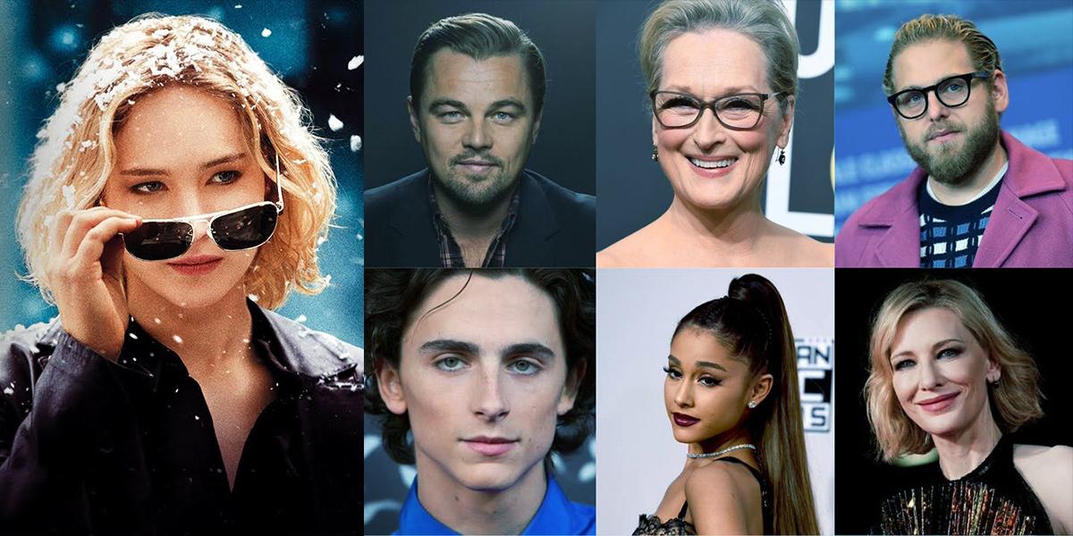 Don't Look Up : Netflix annonce Jennifer Lawrence, Leonardo DiCaprio, Cate  Blanchett, Ariana Grande, Meryl Streep ! – Superpouvoir.com