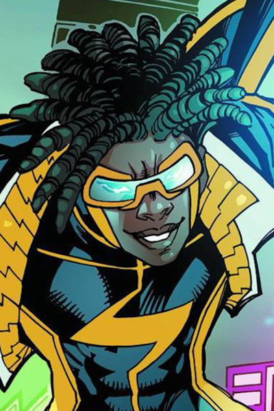Affiche Static Shock