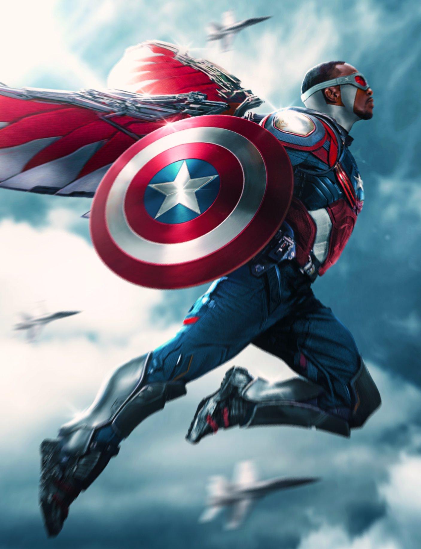 Affiche Captain America 4
