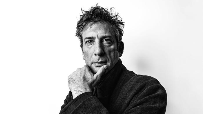 Neil Gaiman in New York.