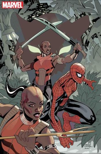 wakanda-forever-amazing-spider-man-dora-milaje-comic-marvel