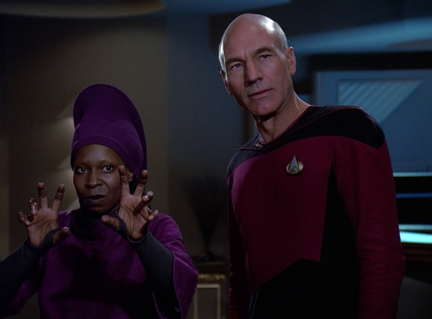 Star-Trek-Q-Who-Captain-Picard-Patrick-Stewart-Guinan- Whoopi-Goldberg-1458x1080