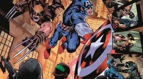 Captain America and Wolverine Team Up for Weapon Plus #1