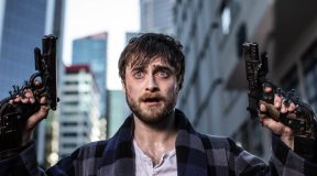 Check out A new Clip from 'Guns Akimbo' starring Daniel Radcliffe and Samara Weaving