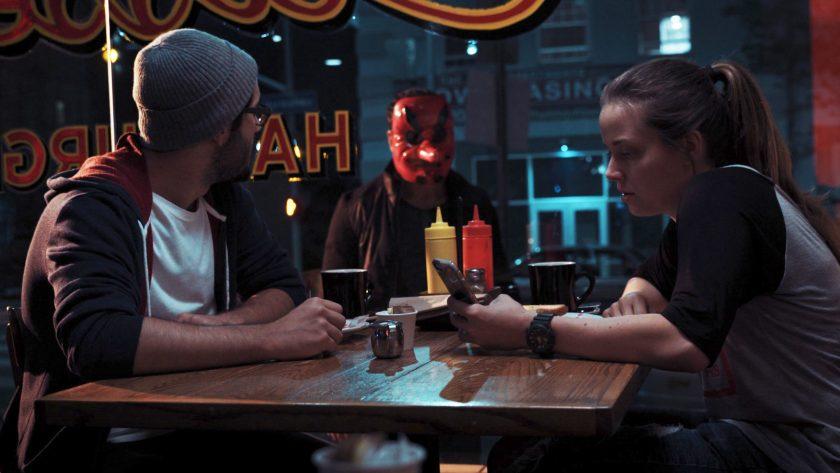FOLLOWED - Masked Man diner