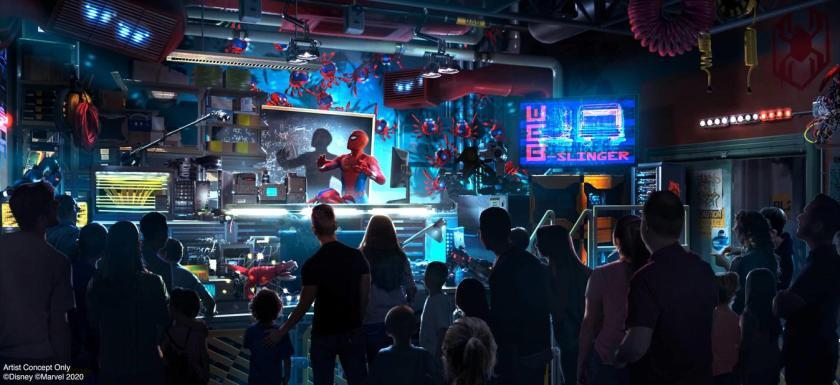 WEB SLINGERS: A Spider-Man Adventure in Avengers Campus at Disney California Adventure Park