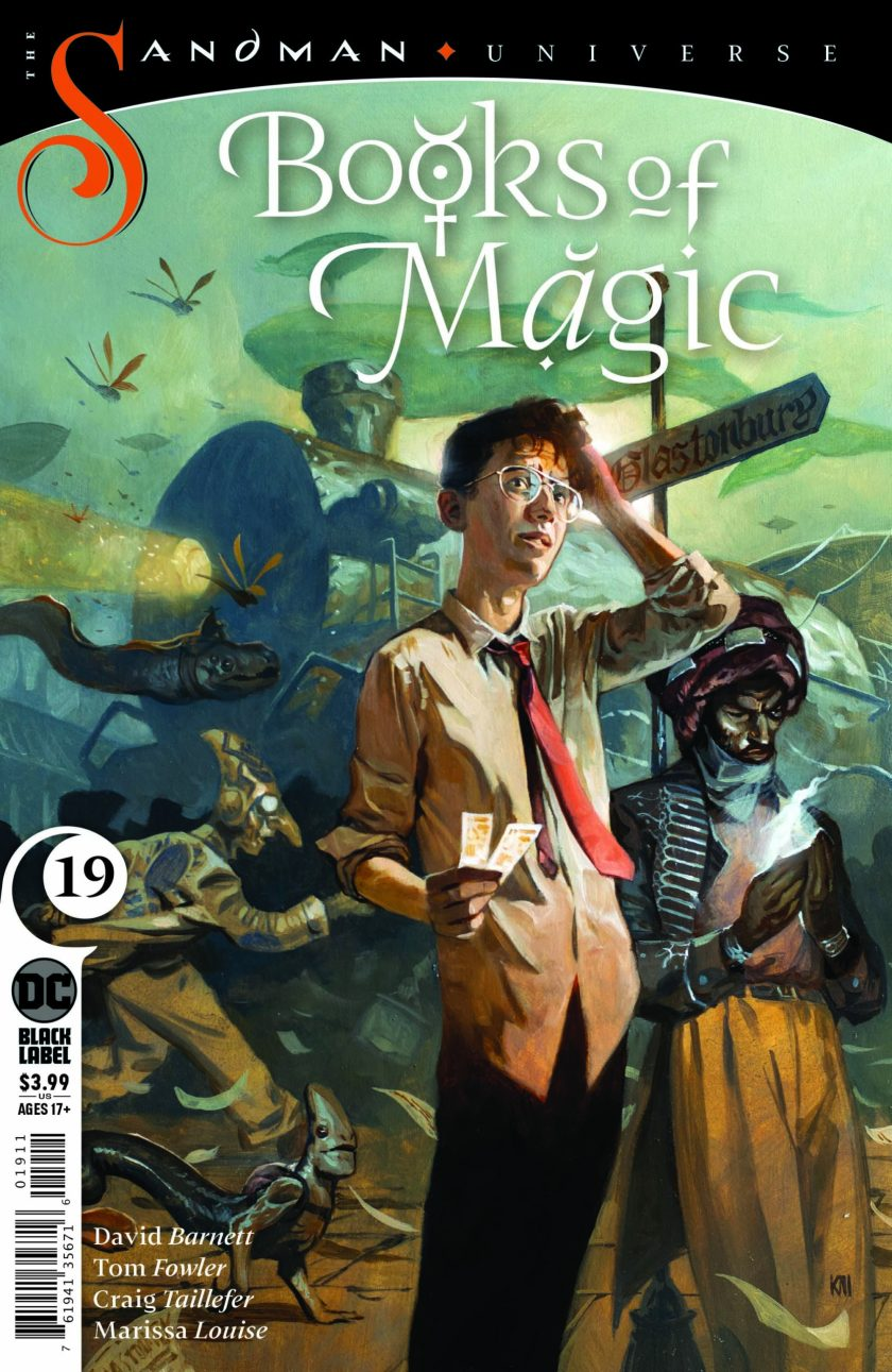 Books of Magic #19