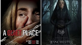 Horror Movie Showdown Day 27: A Quiet Place vs Winchester (2018)