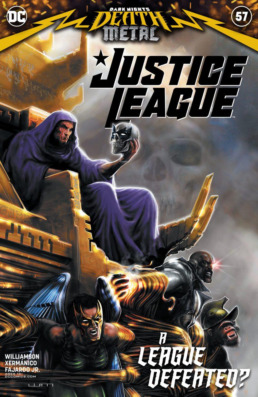 Justice League #57