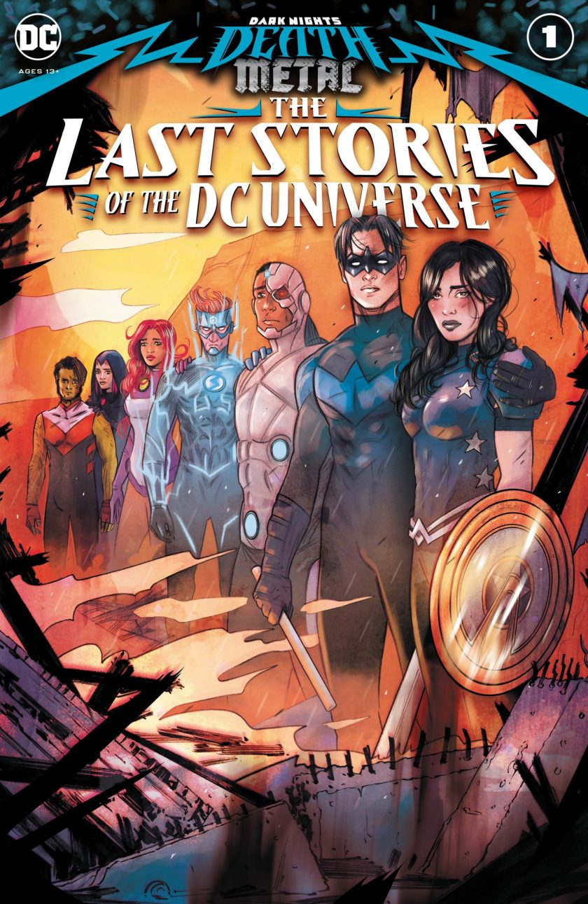 Dark Nights Death Metal The Last Stories of the DC Universe #1