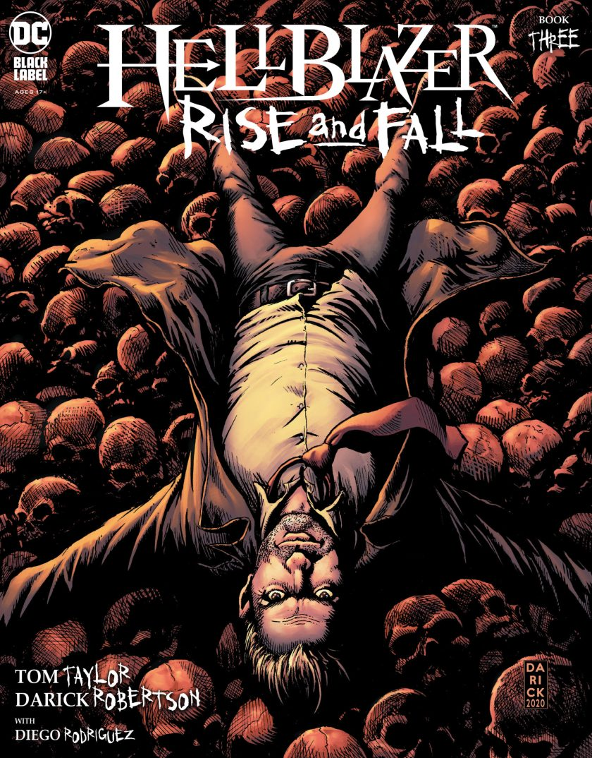 Hellblazer Rise and Fall #3