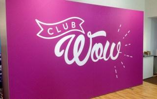Rama cu Poster Textil – Club Wow