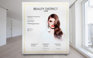 Panou cu Print Textil – Beauty District