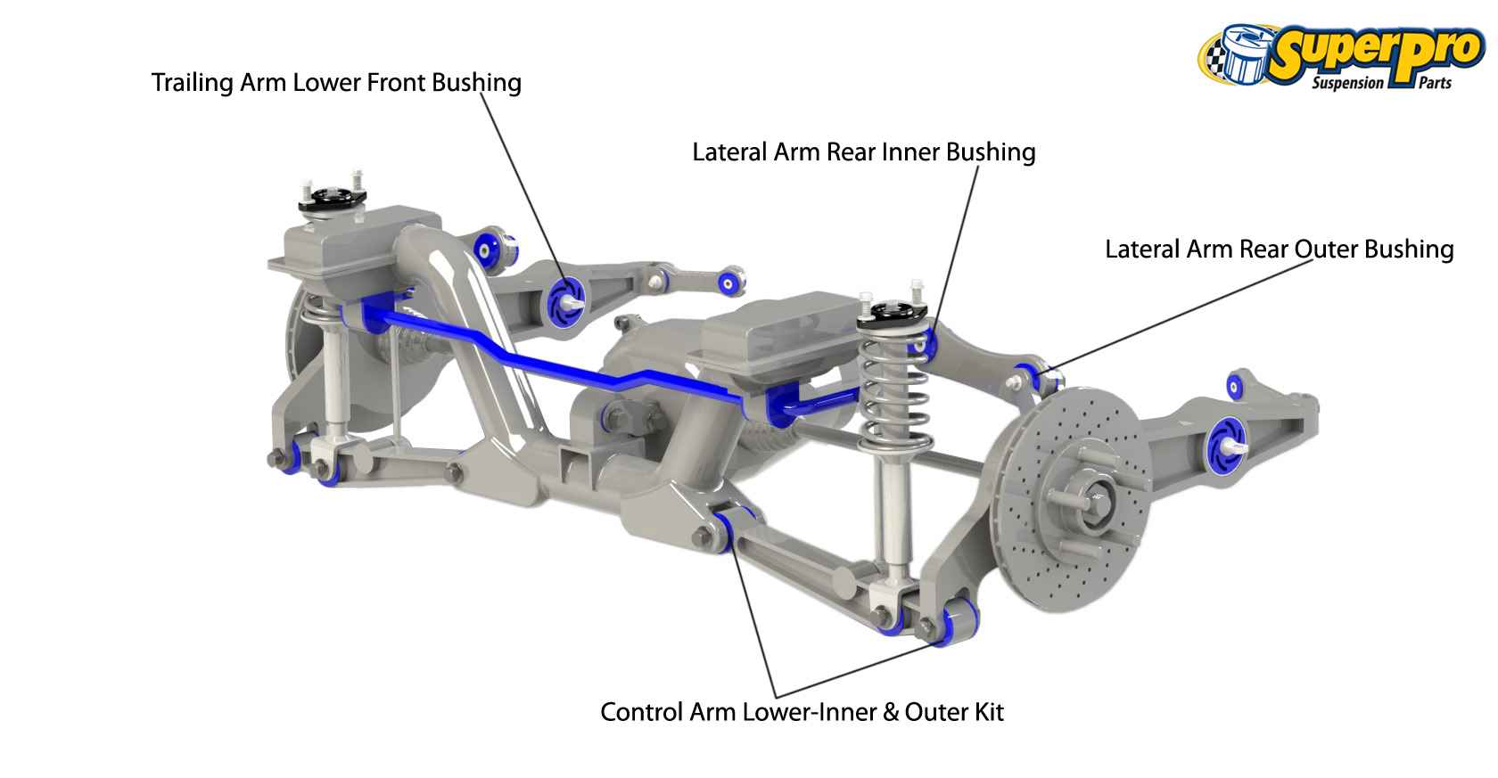 2001 honda crv parts diagram iron carbon phase ppt superpro suspension and poly bushings for cr v